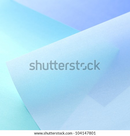 Blue paper background