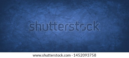blue paper background with old vintage texture and grunge in marbled mottled paper illustration with creases