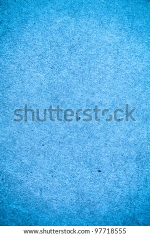 Blue paper texture for background usage