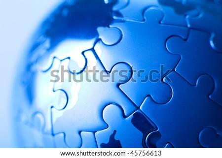 Blue planet puzzle