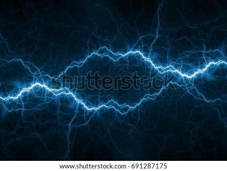 Blue plasma, power and energy background