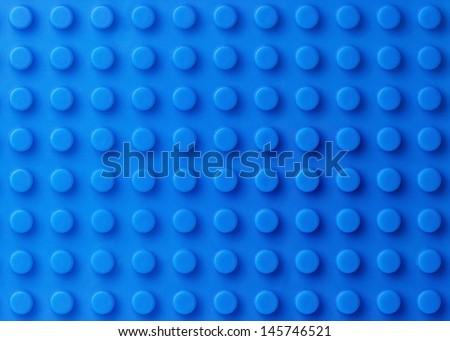 Blue plastic construction background