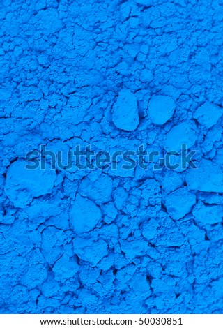 blue powder texture