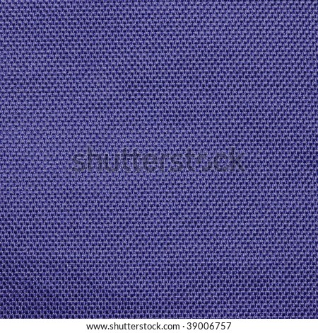 Blue purple polyester fabric texture - stock photo