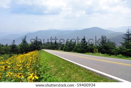 Blue Ridge Parkway and Smoky Mountains