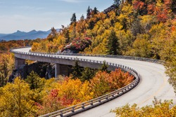 Blue Ridge Parkway at fall