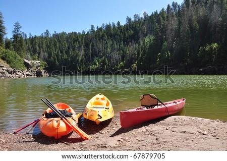 Blue Ridge Reservoir kayaks