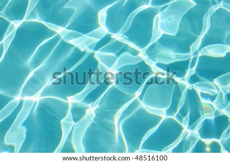 Blue ripples pool water background, a refreshing image for your design