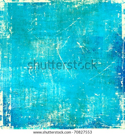 Blue scratch background