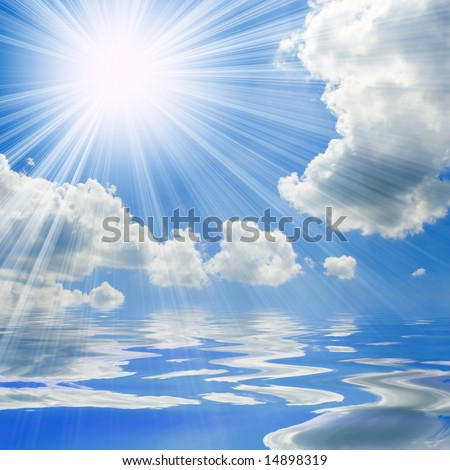 sunny skies wallpaper. and sunny sky background
