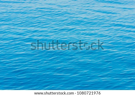 Blue sea surface #1080721976