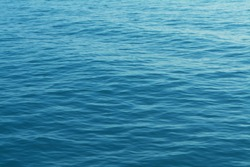 Blue sea water texture background