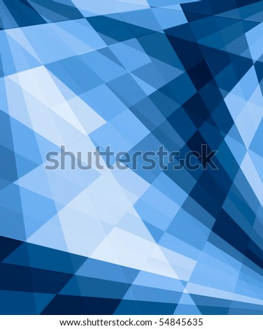 blue shapes