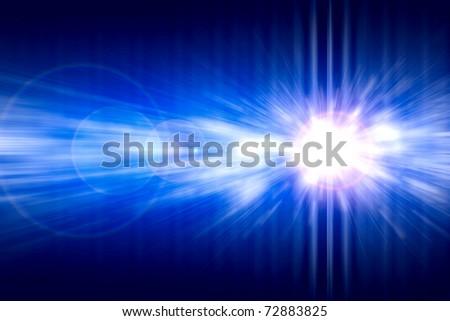 Blue shine background