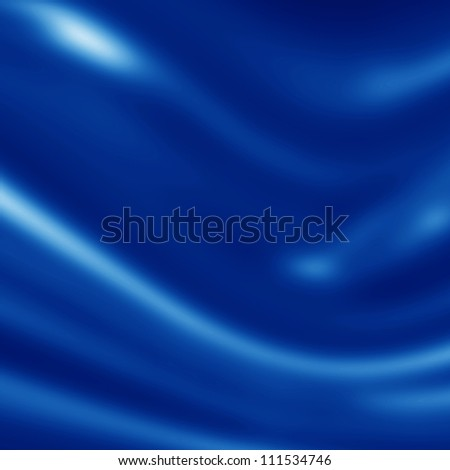 Blue silk background with some soft folds and highlights