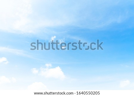 Blue skies sky, clean weather, time lapse blue nice sky. Clouds and sky , White Clouds & Blue Sky,