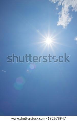 blue sky - Shutterstock ID 192678947