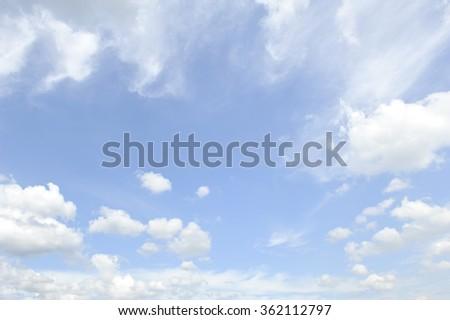 blue sky #362112797
