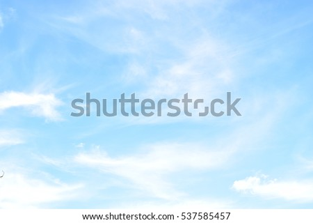 blue sky - Shutterstock ID 537585457