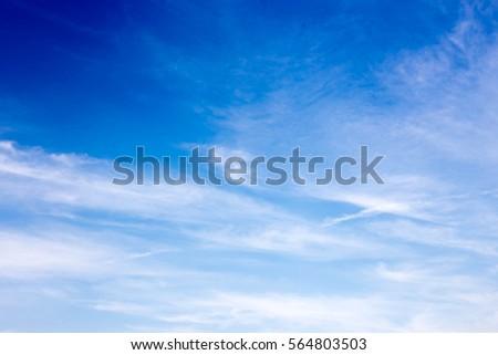 Blue Sky - Shutterstock ID 564803503