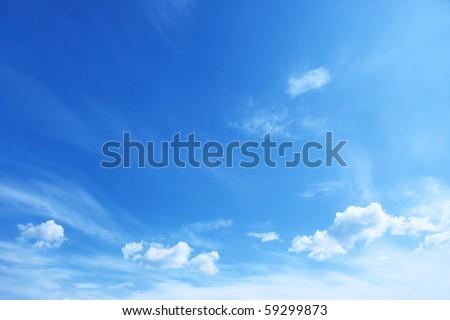 Shutterstock Blue sky.