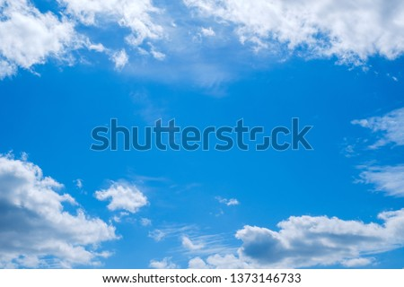 blue sky and cloud nobody image #1373146733
