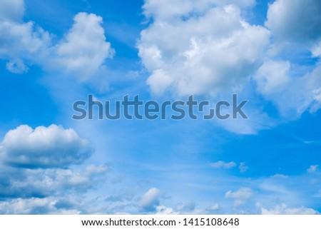 blue sky and cloud nobody image #1415108648