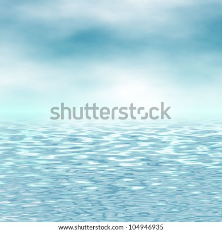 blue sky and sea background #104946935