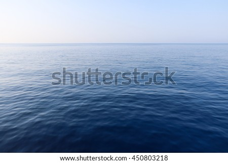 Blue sky and sea background #450803218