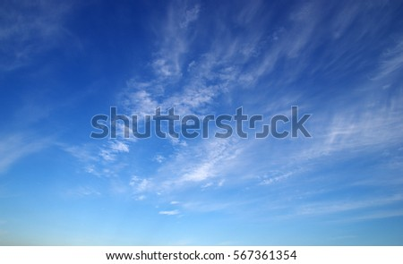 blue sky and white clouds - Shutterstock ID 567361354