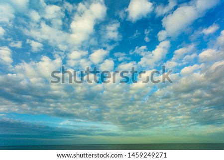 Blue sky and white clouds ,Cloud - Sky, Cloudscape, Season, Sky, Springtime,Thailand, Sunset, Sky, Agricultural Field, Backgrounds #1459249271