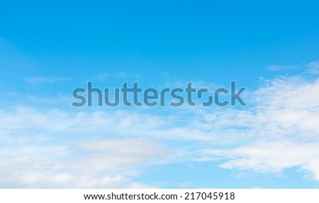 blue sky and white clouds in day time image. #217045918