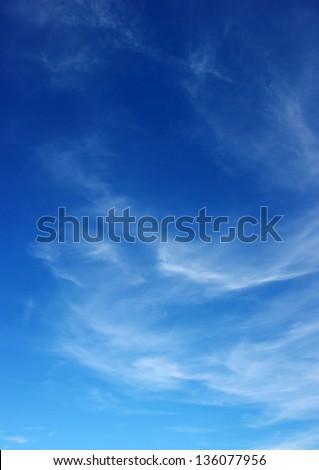 blue sky background - Shutterstock ID 136077956