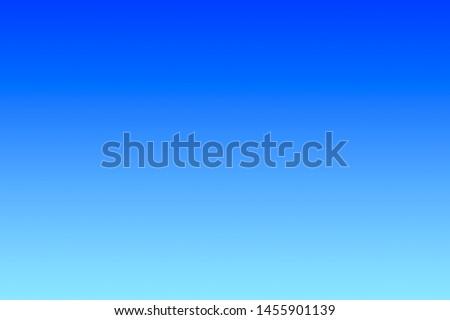 Blue Sky  Background, Gradient Blue Color Backdrop