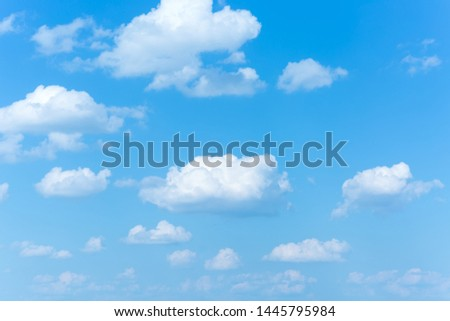 Blue sky background with clouds. sky clouds.The vast blue sky and clouds. clouds background. sky background.