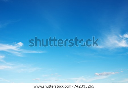 blue sky background with white clouds #742335265