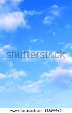 blue sky clouds #132899960