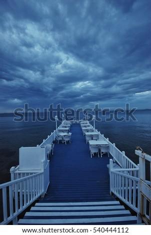 Blue sky in Yalova Stok fotoğraf ©