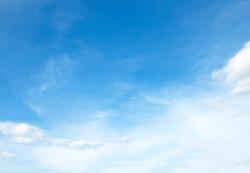 Blue sky nature beautiful background