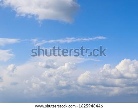 Blue sky Panoramic. Clouds Panoramic background.