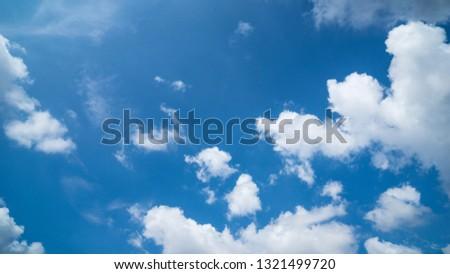 Blue sky. Sky over the sky. Sky is the limit.