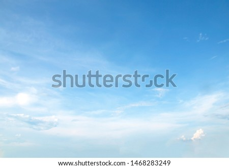 blue sky white clouds background nature #1468283249