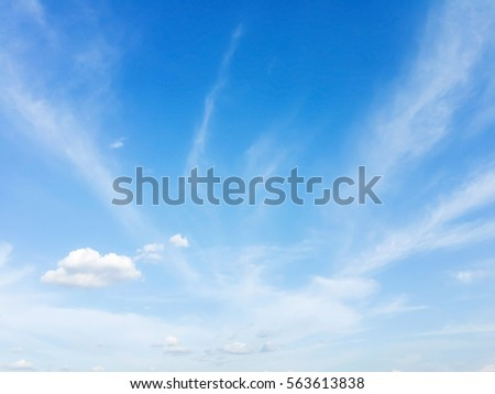 blue sky with cloud #563613838