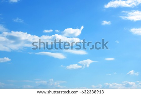 blue sky with cloud - Shutterstock ID 632338913