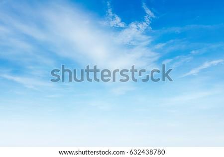 blue sky with cloud - Shutterstock ID 632438780