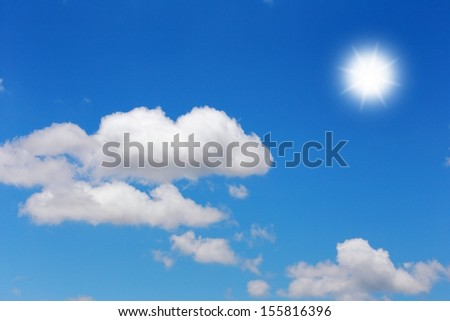 blue sky with cloud background #155816396
