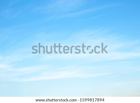 blue sky with cloud  beautiful nature abstract