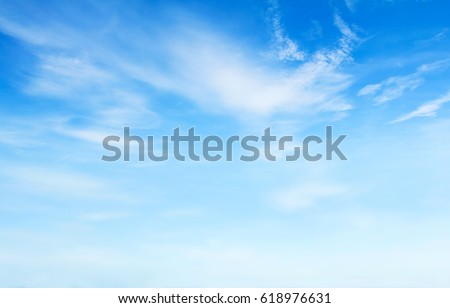 blue sky with clouds #618976631