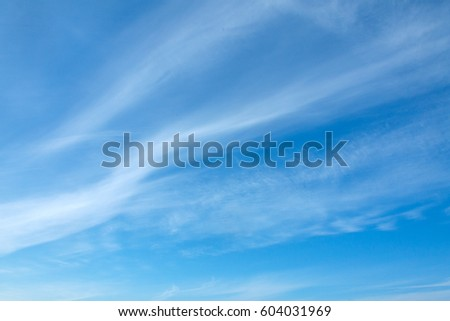 Shutterstock Blue sky with clouds background