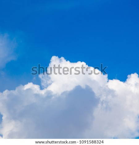 blue sky with clouds. place to insert text. old background